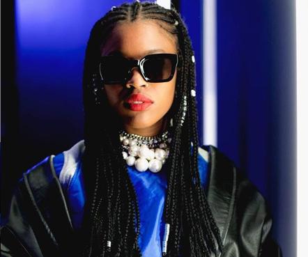 Adoramos o look de Cleo Tavares no Moda Lisboa