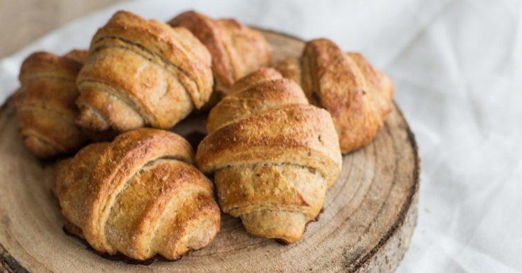 Saborosa versão de croissants que pode comer sem culpa