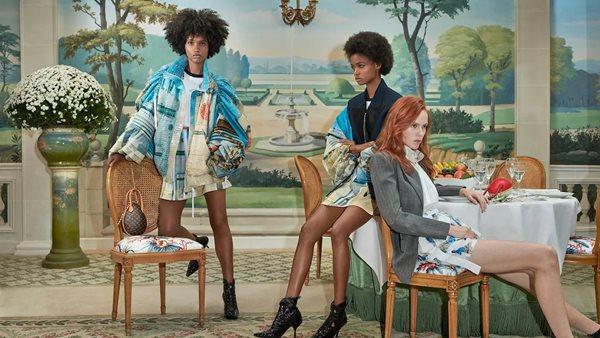 Angolana estreia campanha Louis Vuitton