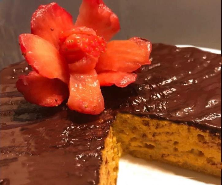 A tarte de cenoura e coco para comer sem parecer que está de dieta
