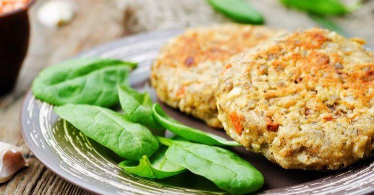Hambúrguer saudável para manter a dieta no final de semana