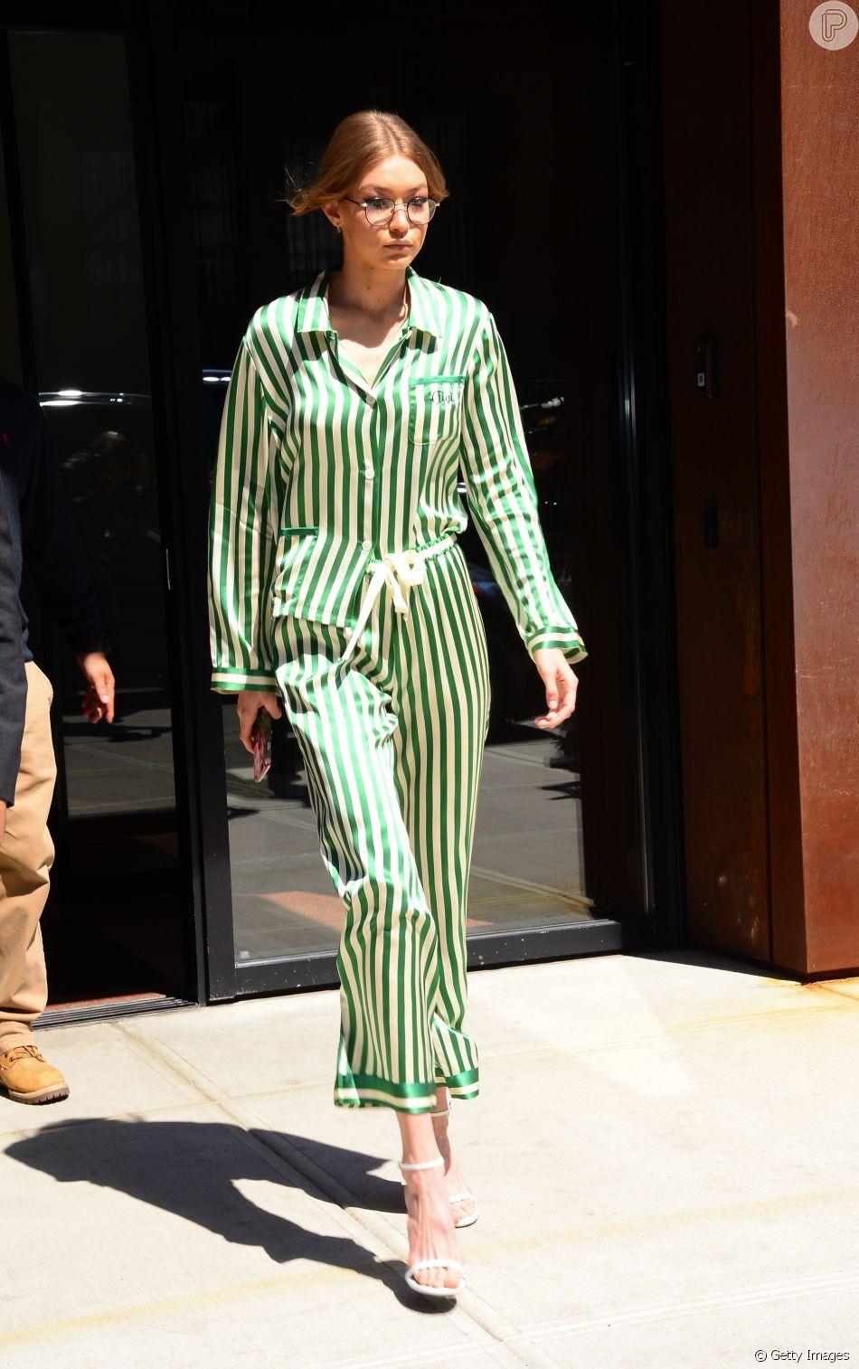 Estilo 'Pijama' continua a dominar as ruas