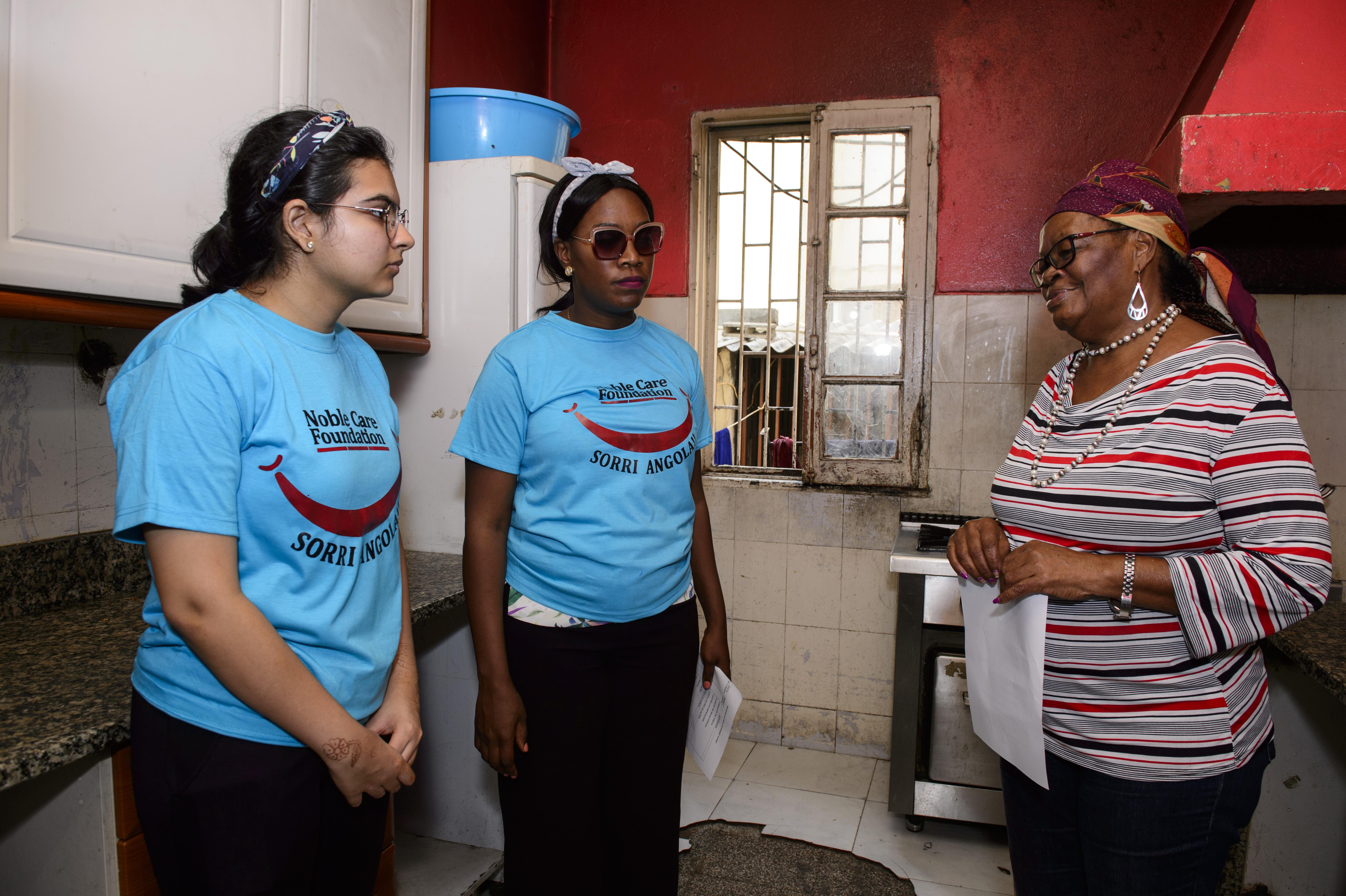 Noble Care Foundation faz visita solidaria à Remar