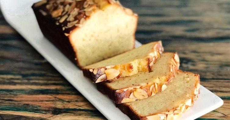 O melhor bolo de amêndoa (sem glúten) faz-se em menos de 4 minutos