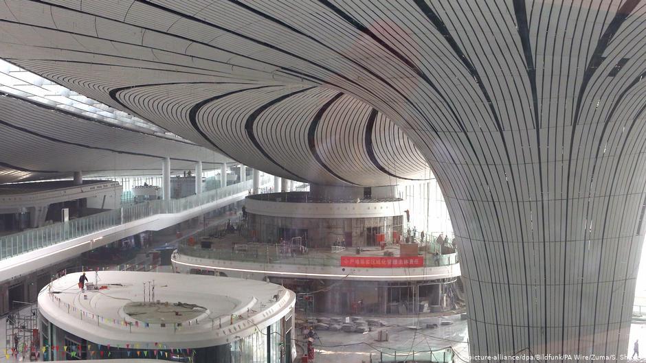 Pequim inaugura o aeroporto com o maior terminal do mundo