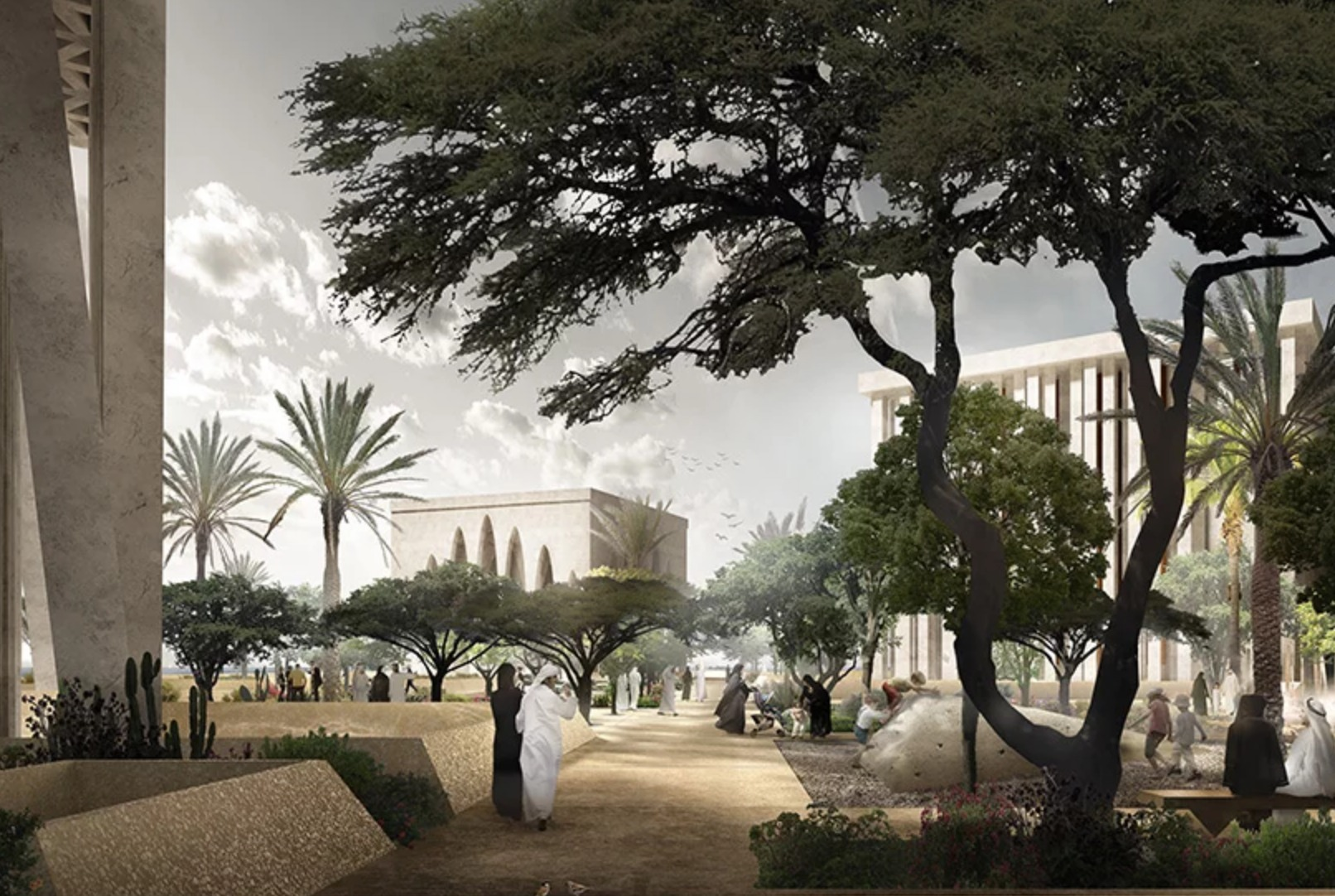 Abu Dhabi: Igreja, mesquita e sinagoga no mesmo local