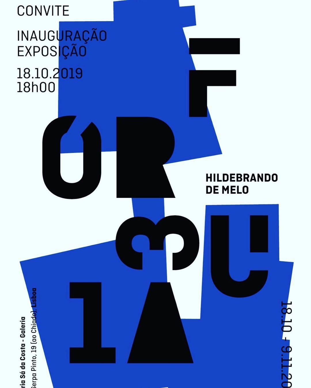 Galeria Livraria Sá da Costa, no Chiado, acolhe a FÓRMULA do artista angolano, Hildebrando de Melo