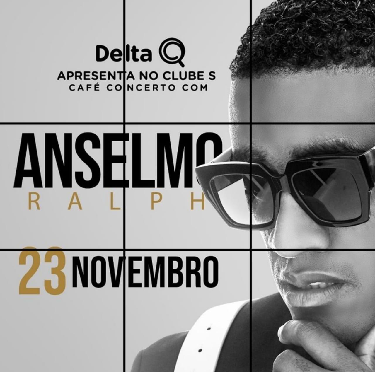 Anselmo em Café-Concerto com a Delta Q