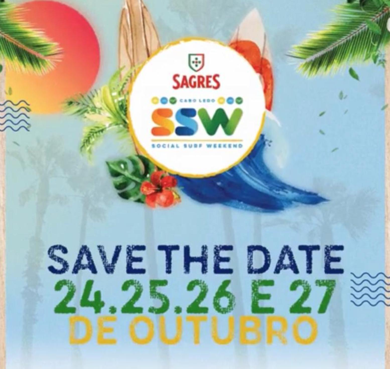 Vem aí o SSW – Social Surf Weekend, veja a programação dos 4 dias