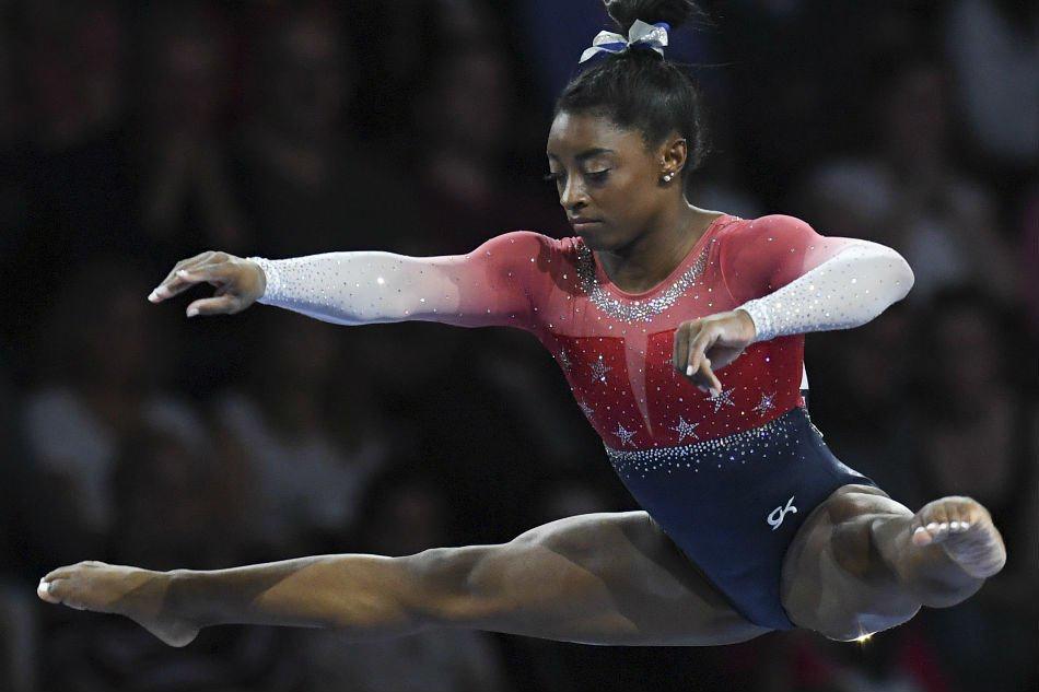 Simone Biles é a maior medalhista da ginástica feminina na história do Mundial