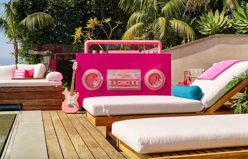 A Casa de Sonho da Barbie, agora pode ser alugada no Airbnb
