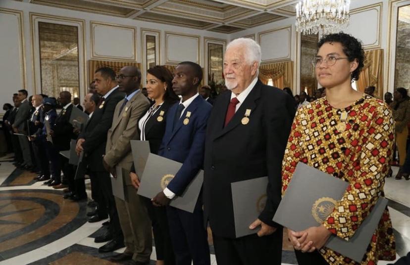 Adjany Costa é reconhecida pelo seu contributo ao engrandecimento de Angola