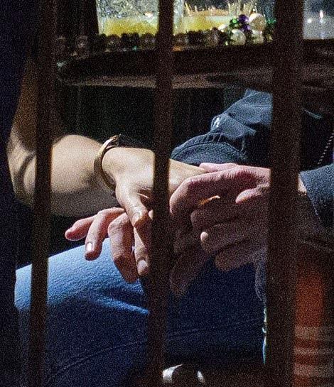 Justin Timberlake é apanhado de mãos dadas e em troca de gestos íntimos com Alisha Wainwright