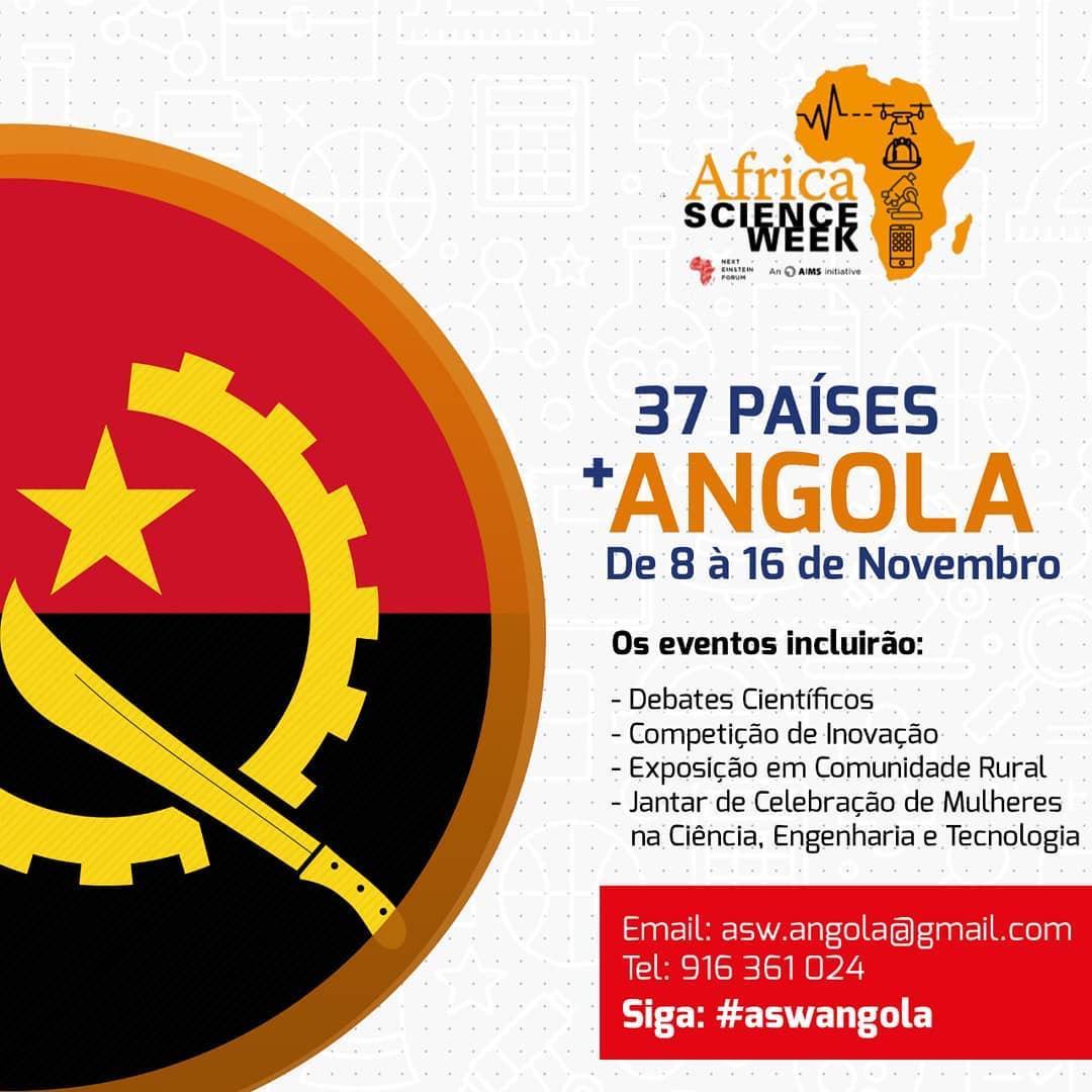 Vem aí a Semana da Ciência em África (ASW)