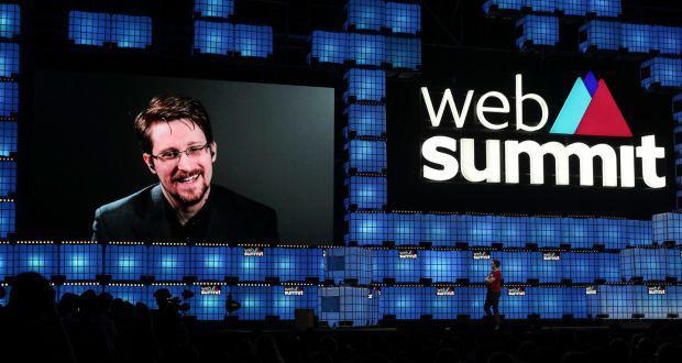 """""""Web Summit 2019"""" surpreende participantes com palestra de Edward Snowden"""