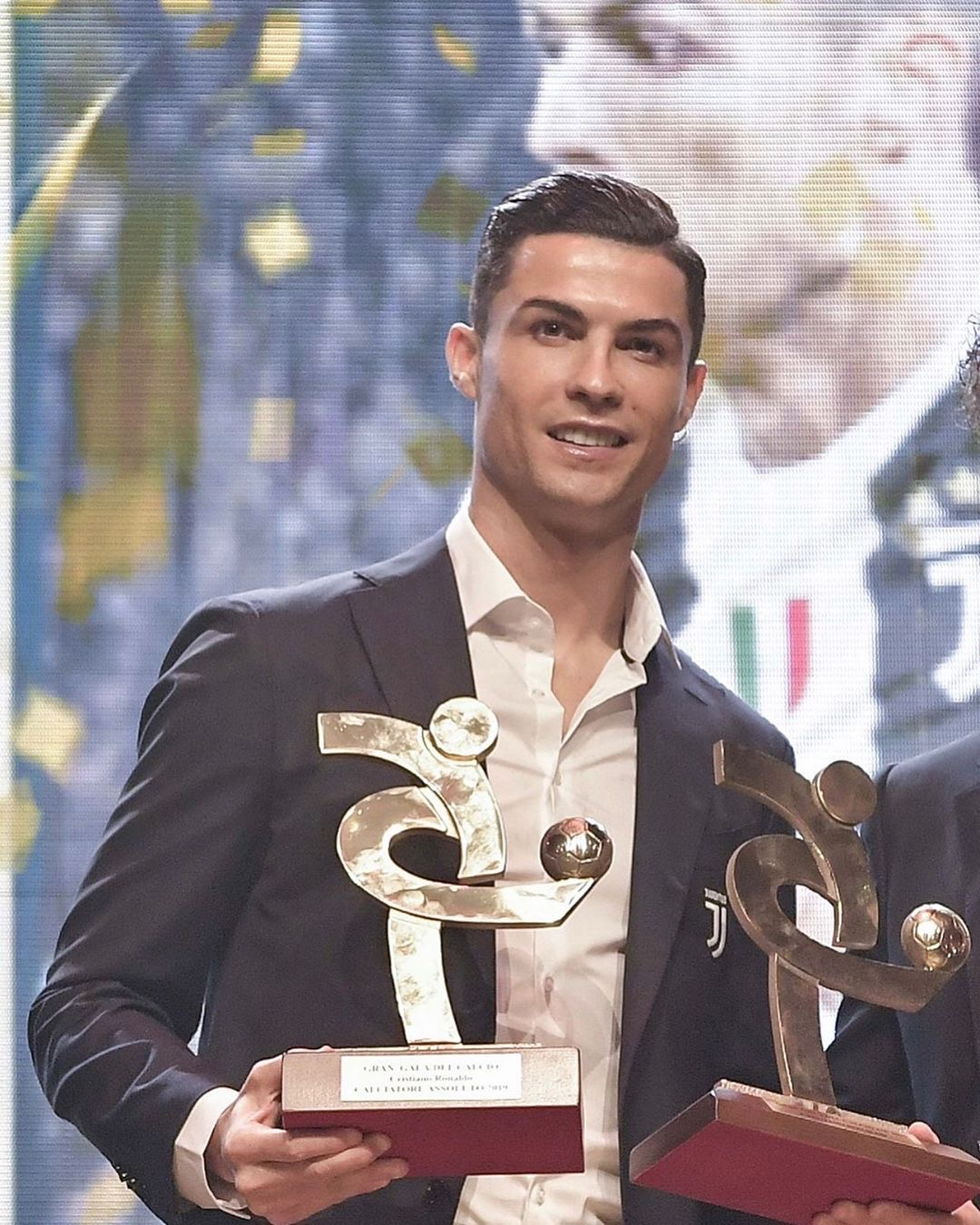 CR7 melhor jogador da Serie A