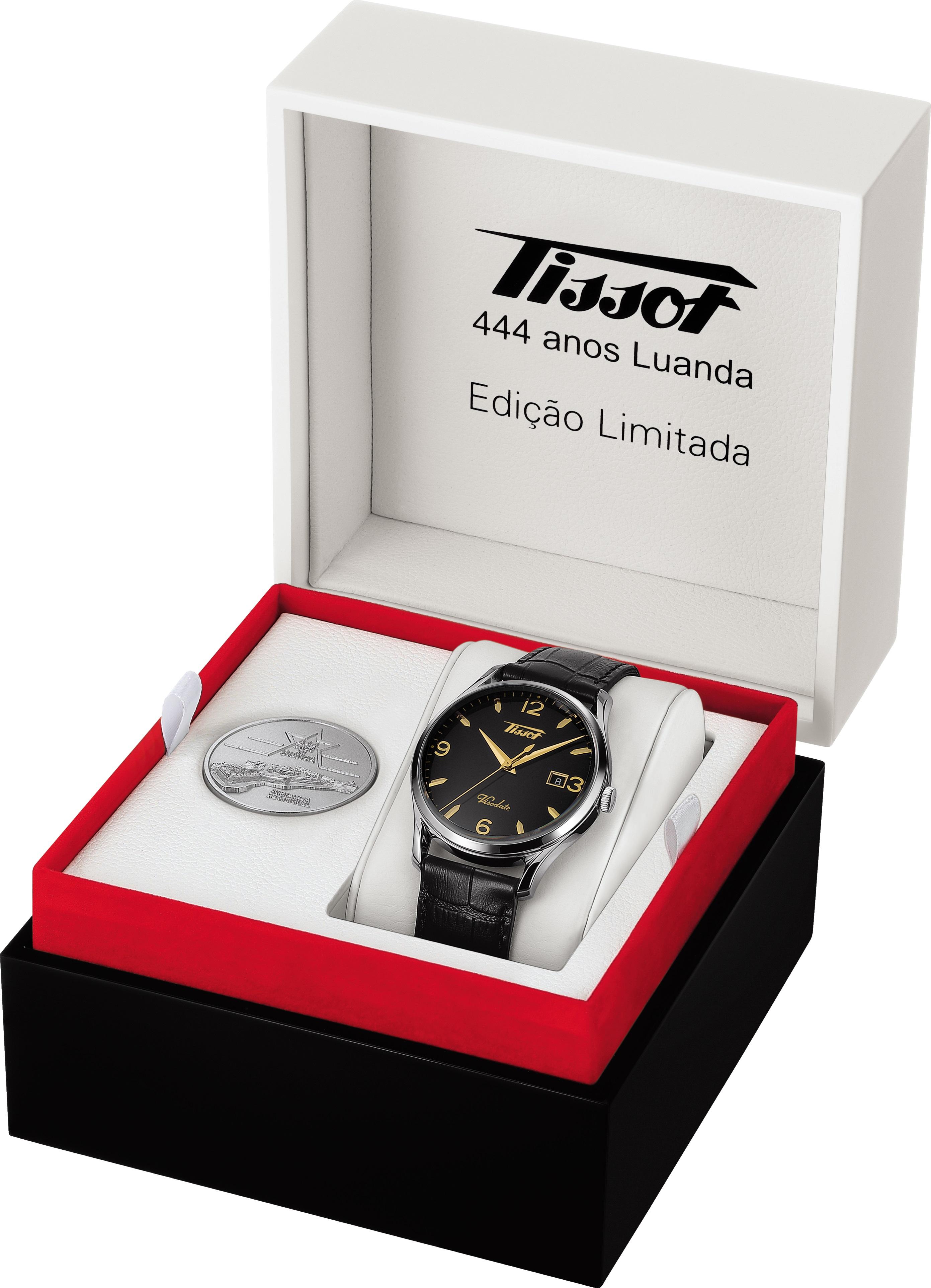 Tissot celebra 444 anos de Luanda Com relógio de edição limitada e numerada