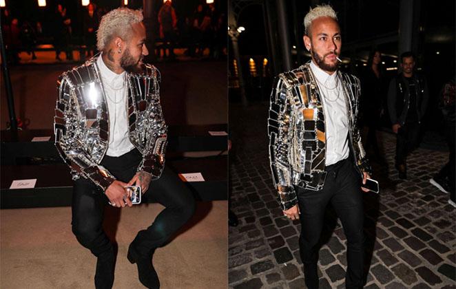 Encontro entre Neymar e Olivier Rousteing