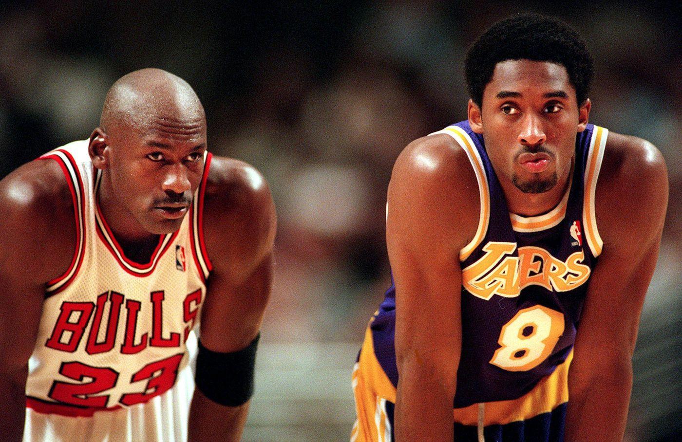 Michael Jordan chora por Kobe Bryant