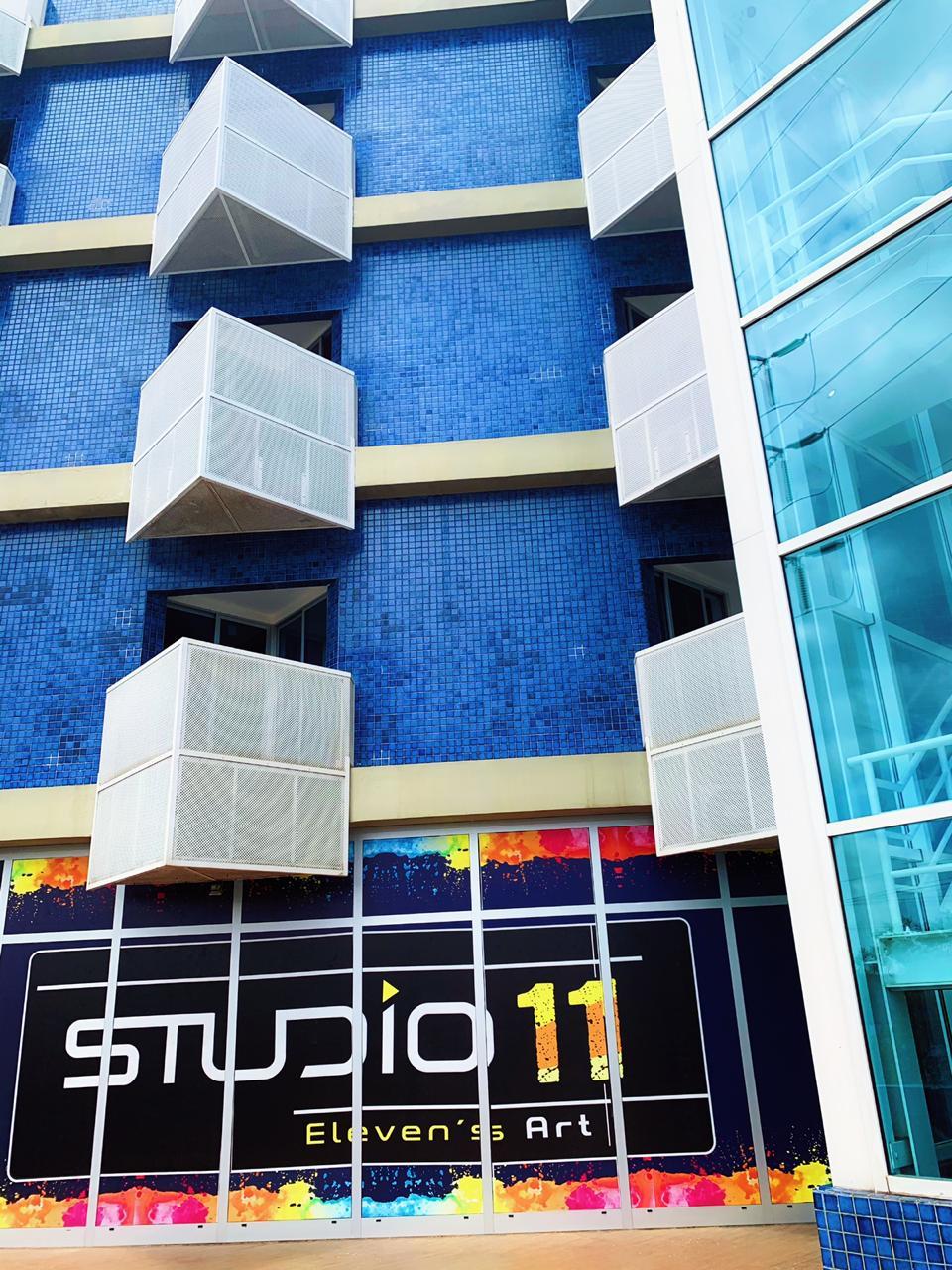 Inauguração do Eleven`s Art Studio em contagem descrescente
