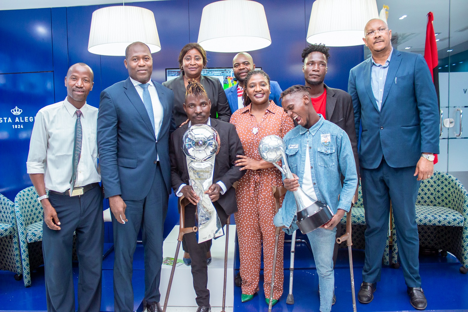 Vista Alegre apresenta a 1ª Agenda Cultural de 2020 e faz doação ao Comité Paralímpico Angolano