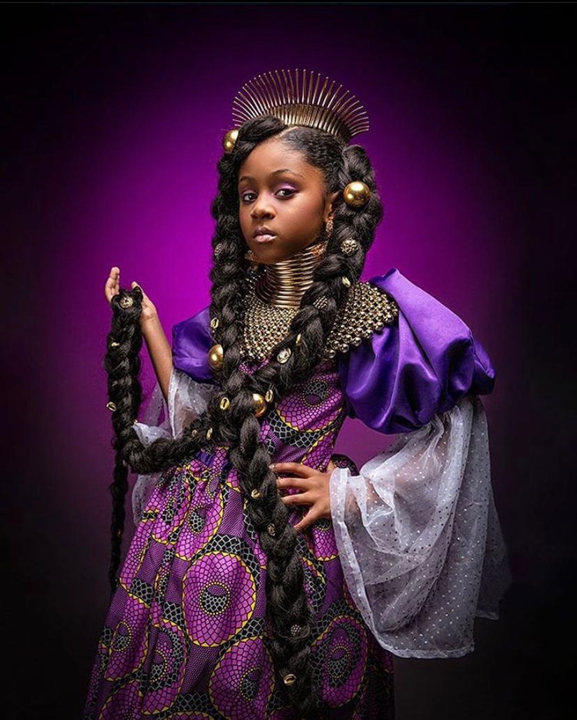 Princesas recriadas em série fotográfica