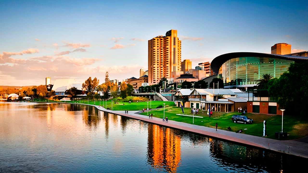 Perth o outro lado da Austrália