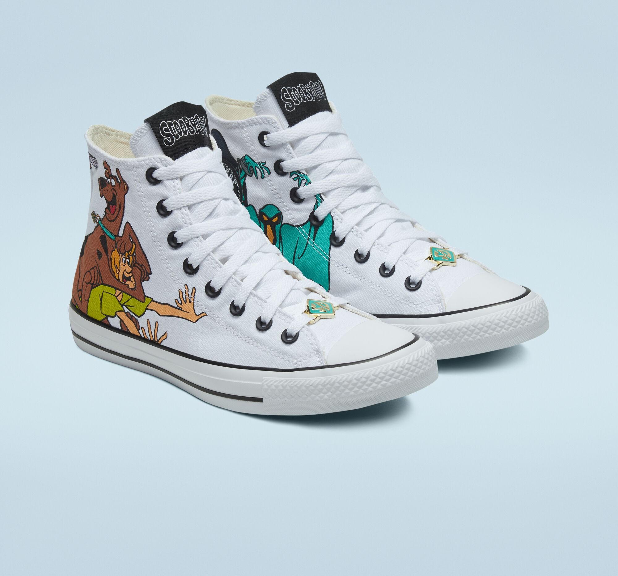 Converse lança linha de tênis do Scooby-Doo