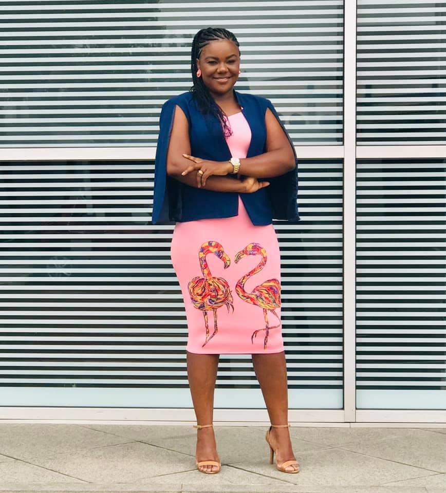 Celeste Mampuya: mais do que uma estilista, uma artista.