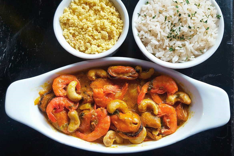 Conheça os encantos de África em apenas um prato de camarão