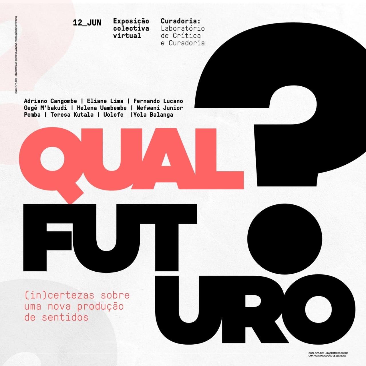 """Uolofe Griot e mais nove jovens apresentam e exposição """"Qual Futuro?"""""""