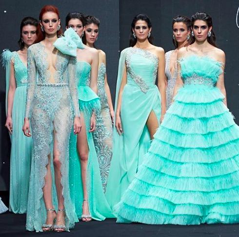 João Rôlo ao lado da Dior, Versace, Hermés, Fendi e YSL em Puerto Banús