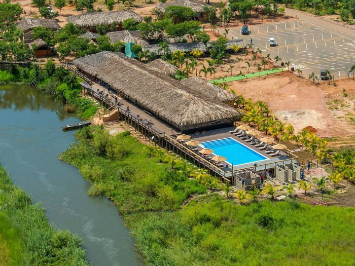 Resort no Kuando Kubango