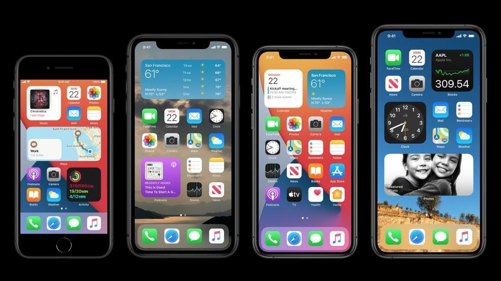 iOS 14 é o novo sistema operacional do Iphone