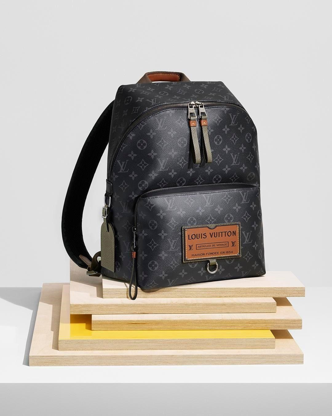 Louis Vuitton lança tenda e mochilas