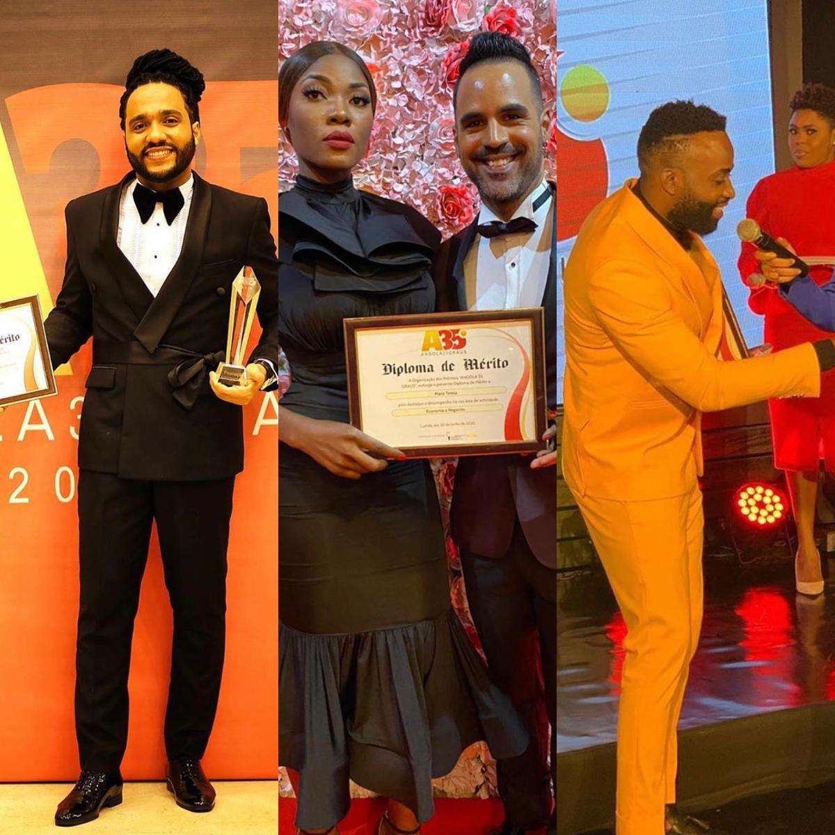 Emoção, alegria e surpresas marcam a noite de premiação do Angola 35 Graus