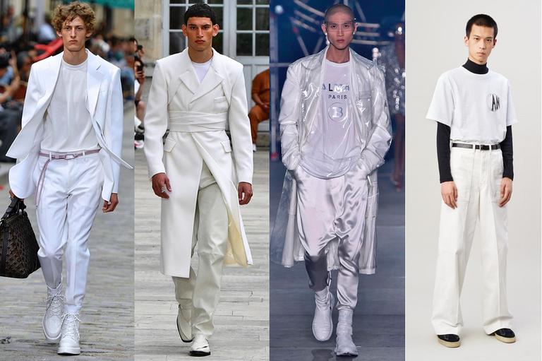 Formas de vestir a t-shirt básica branca para ser um homem elegante