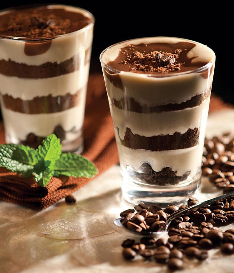 Doce de natas com café