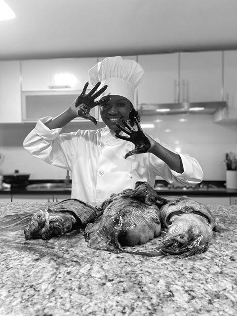 O melhor leitão assado à bairrada com laranja, da Chef Katiarina Santiago