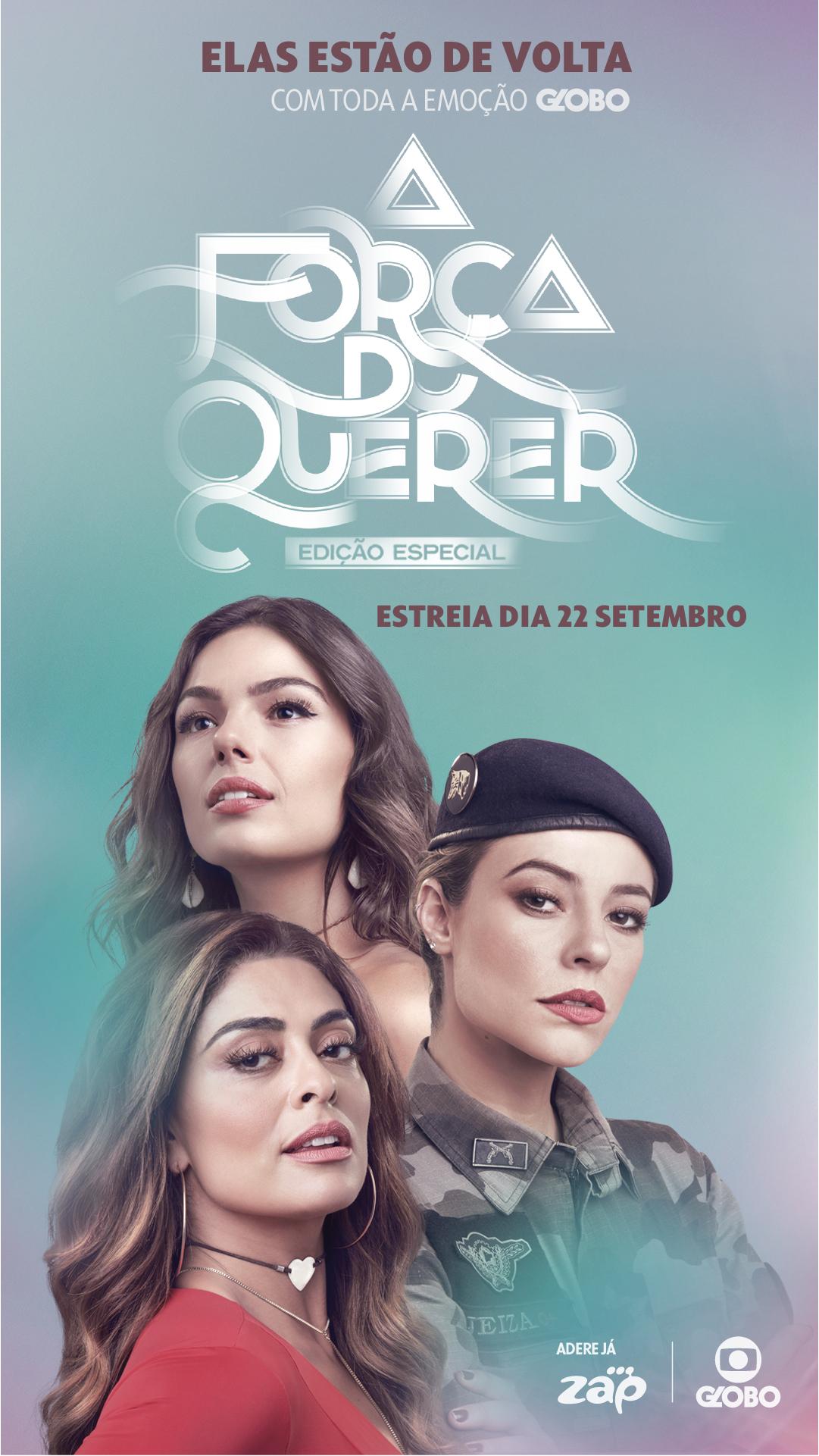 'A Força do Querer' estreia no dia 22