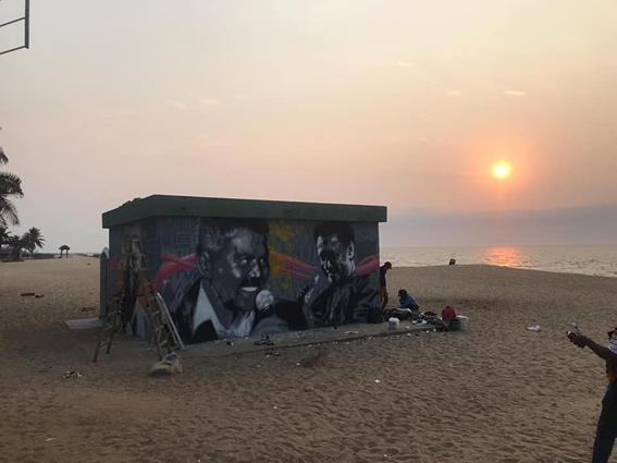 Ponto Final da Ilha de Luanda ganha grafismo de Waldemar Bastos e Carlos Burity