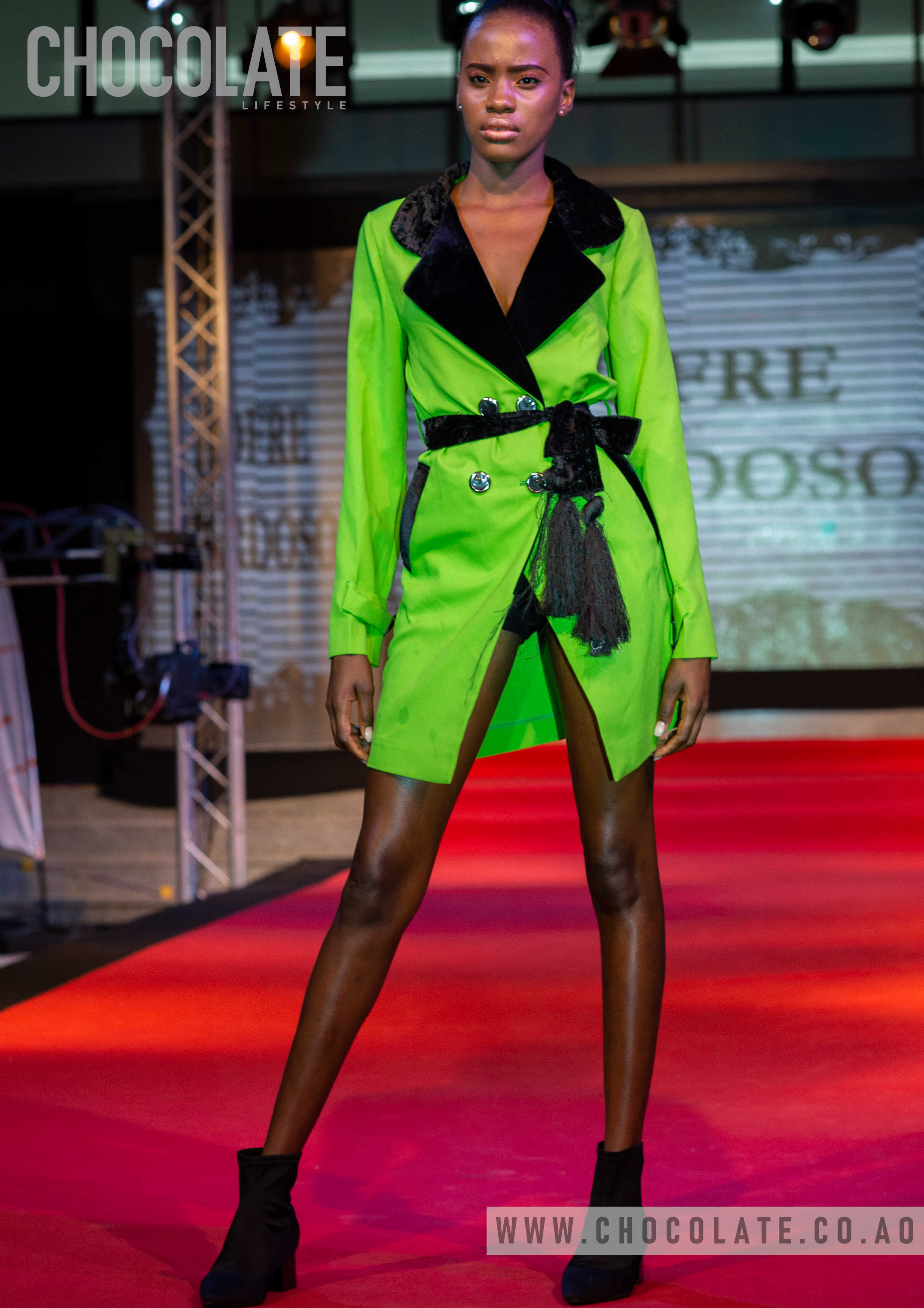 """Huíla Fashion: Fashion For Live desfile Jofre Cardoso"""