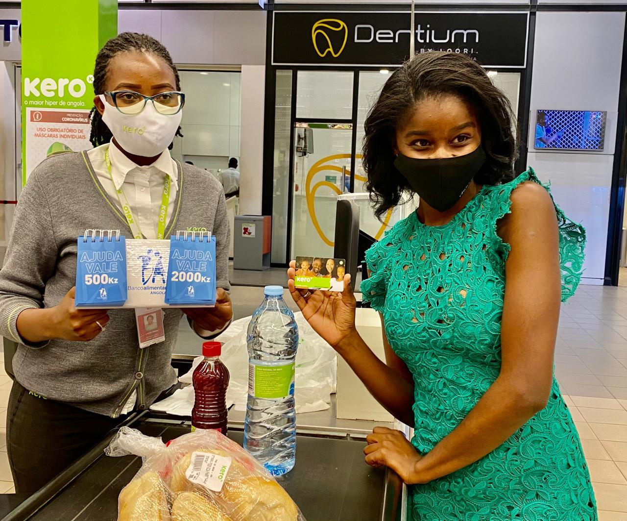 A campanha do Banco alimentar Angola terminou, mas a ajuda continua