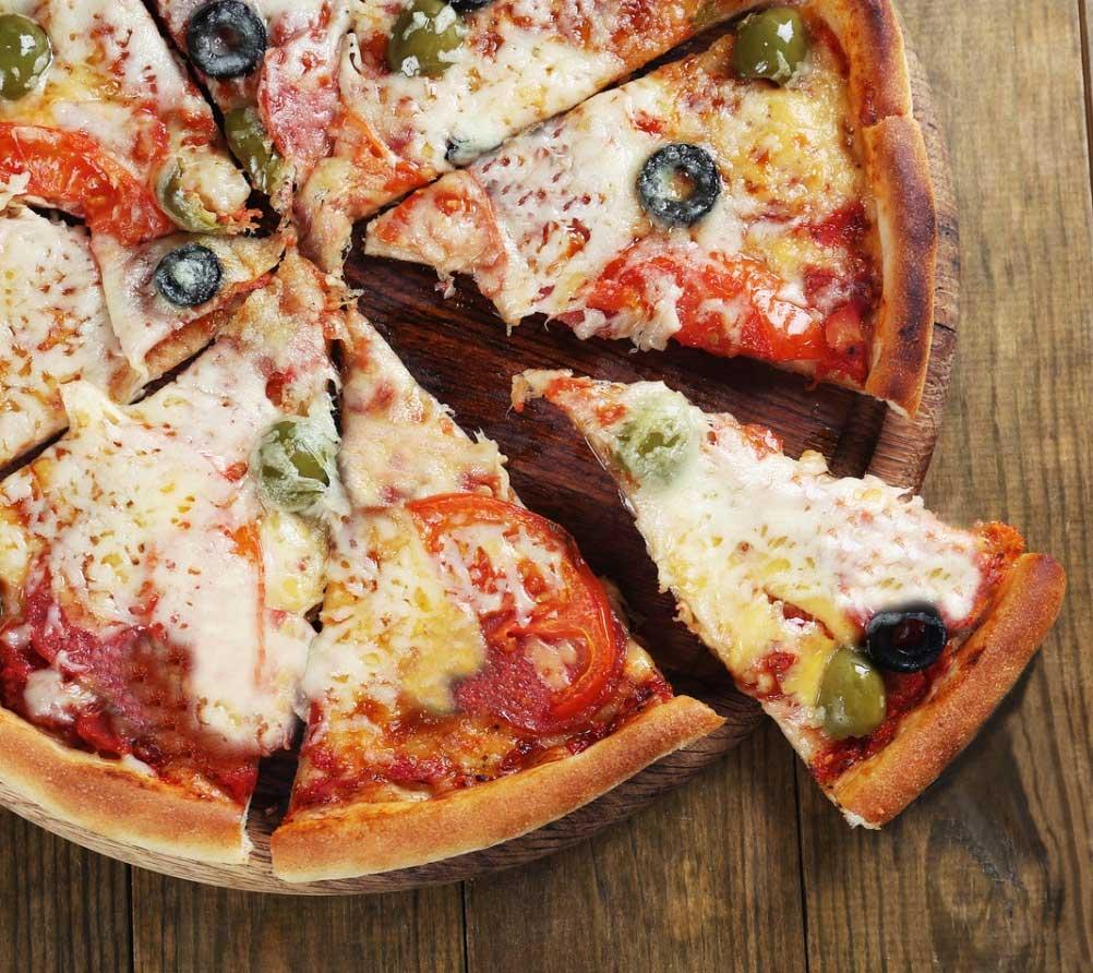 Pizza de Liquidificador Integral