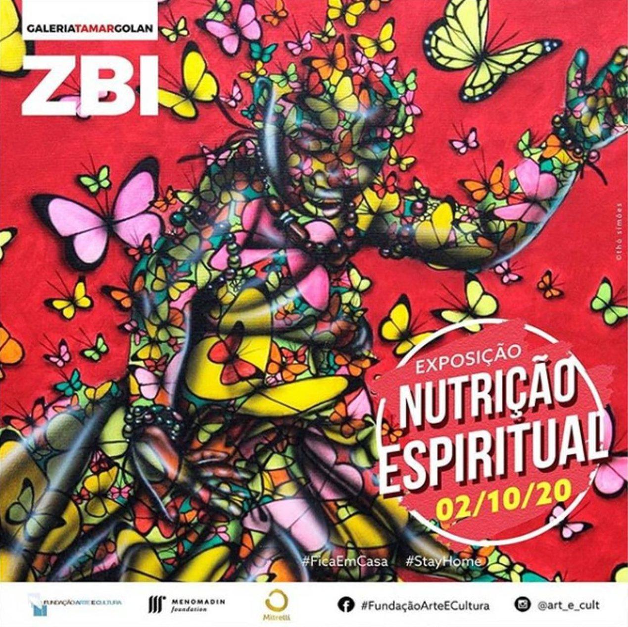 Exposição nutrição espiritual, de Isaac Pedro André