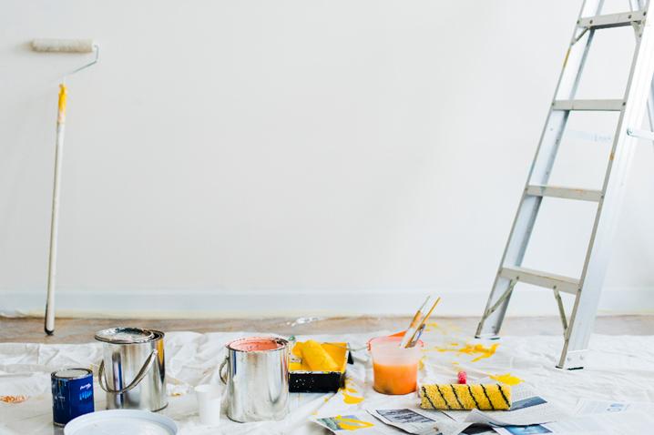 Como pintar as paredes: confira passo a passo