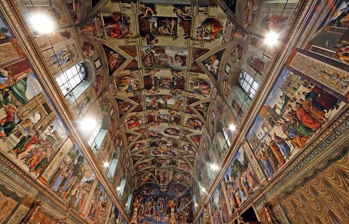 Conheça o teto da Capela Sistina, concebido por Michelangelo
