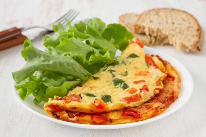Omelete fit, para uma manhã saudável