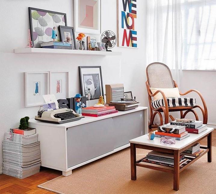 10 Dicas para deixar a sua sala mais bonita sem gastar muito