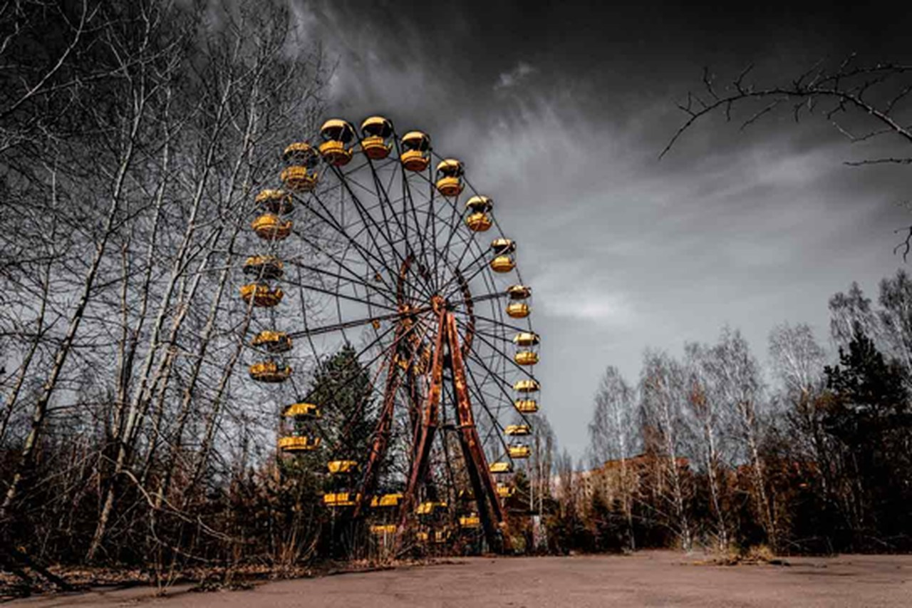 Viaje para Kieve visite Chernobyl sem sair de casa